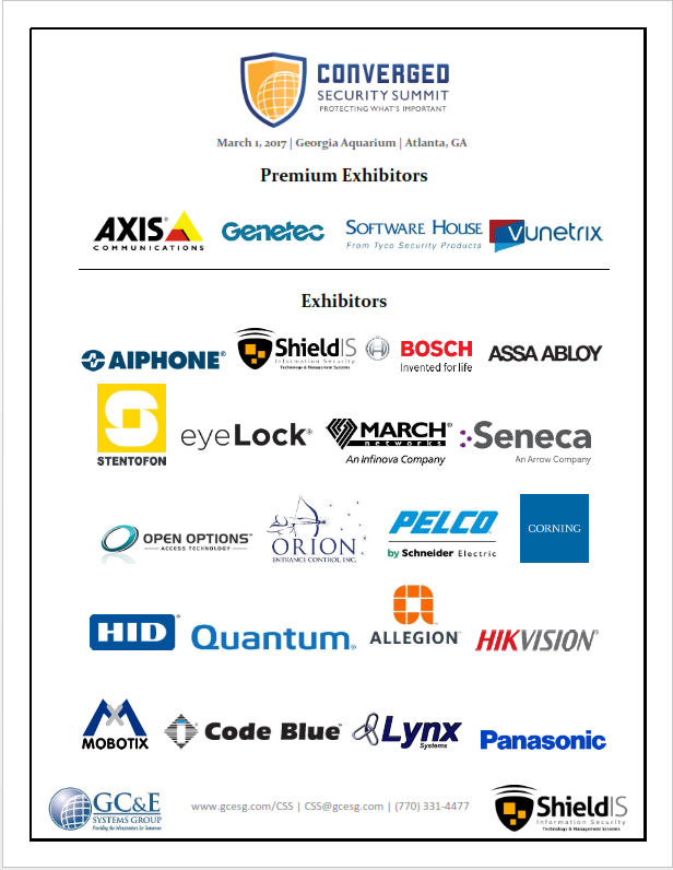 CSS - Participating Exhibitors PNG | GC&E Systems Group